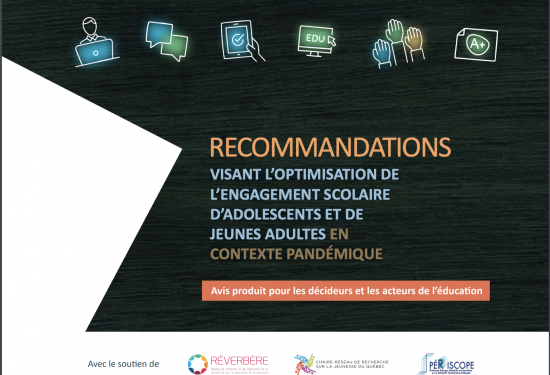 Recommendations - optimisation engagement scolaire