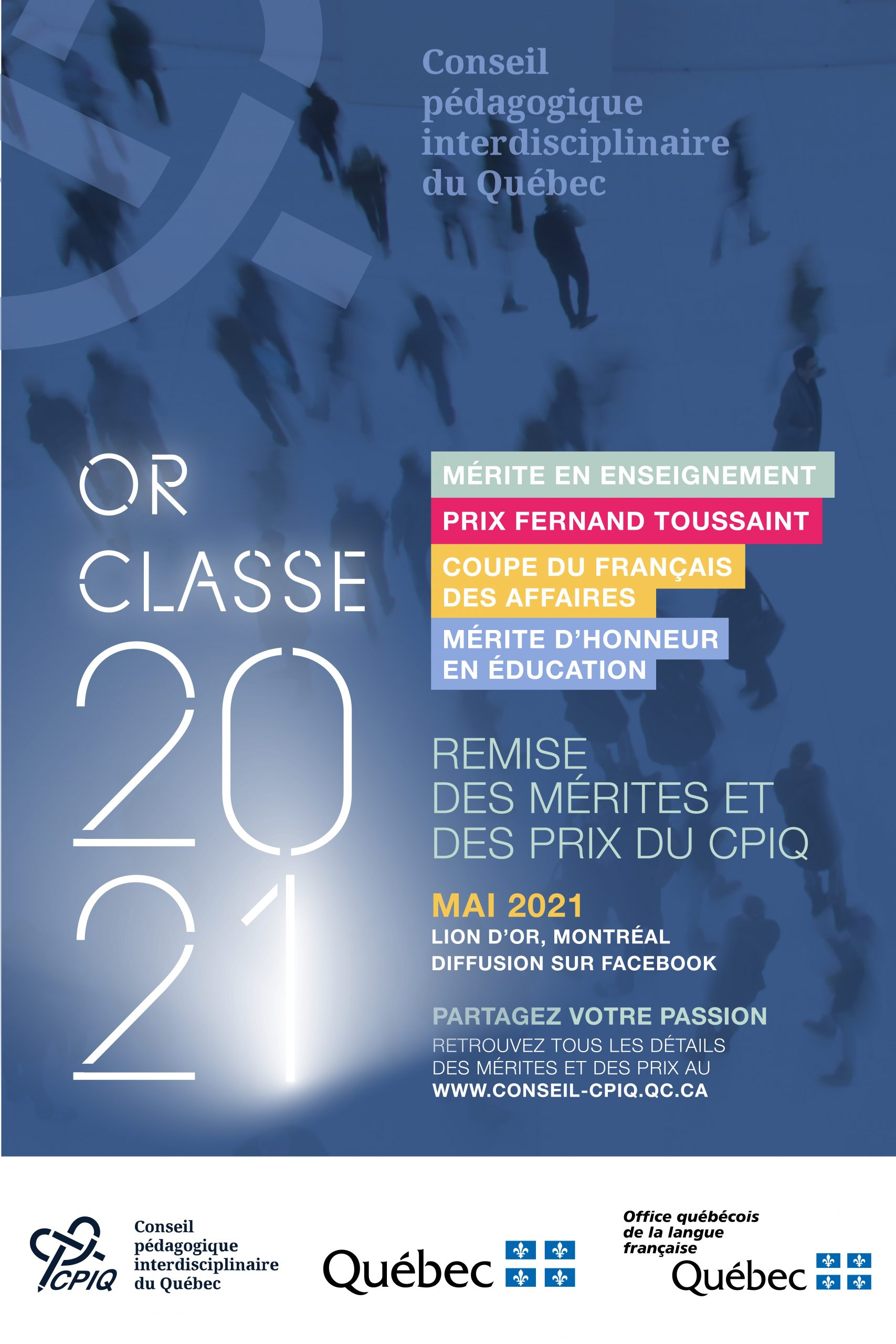 Or classe 2021